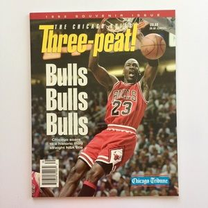 Other - Michael Jordan Chicago Tribune Souvenir Issue 1993